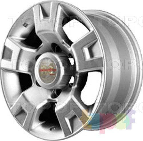 Колесные диски RS 261. rNI. Серебристый с дымкой