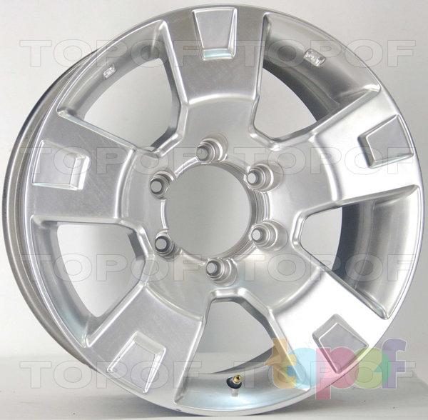 Колесные диски RS 261. оружейный металл серый