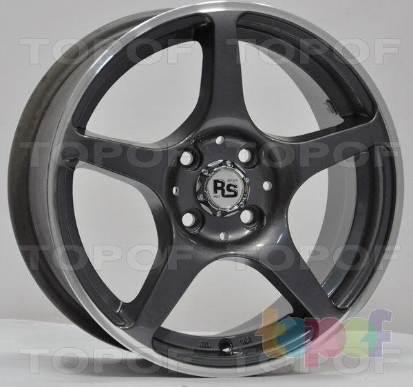 Колесные диски RS 280. Серебряный с дымкой