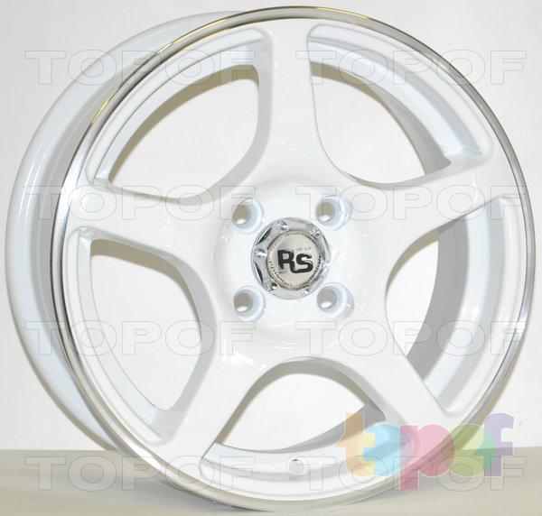 Колесные диски RS 280. Белый цвет