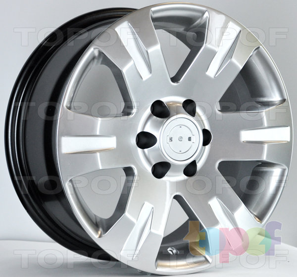 Колесные диски RS 306. Насыщенный серебряный
