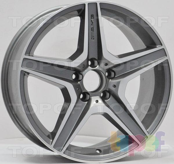 Колесные диски RS 314 rMB. Матовый серебряный