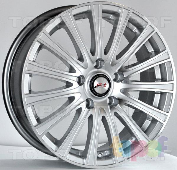 Колесные диски RS 315. Цвет серебряный насыщенный полированный
