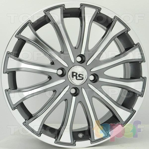 Колесные диски RS 320. Цвет: матовый серый, оружейный металл серый, антрацит