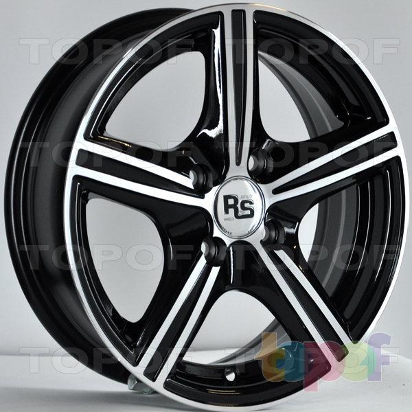 Колесные диски RS 331. Цвет: матовый черный