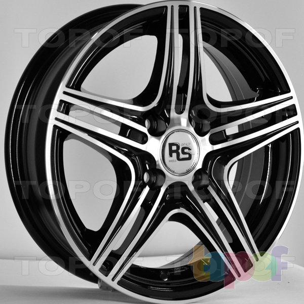 Колесные диски RS 334. Цвет: матовый черный