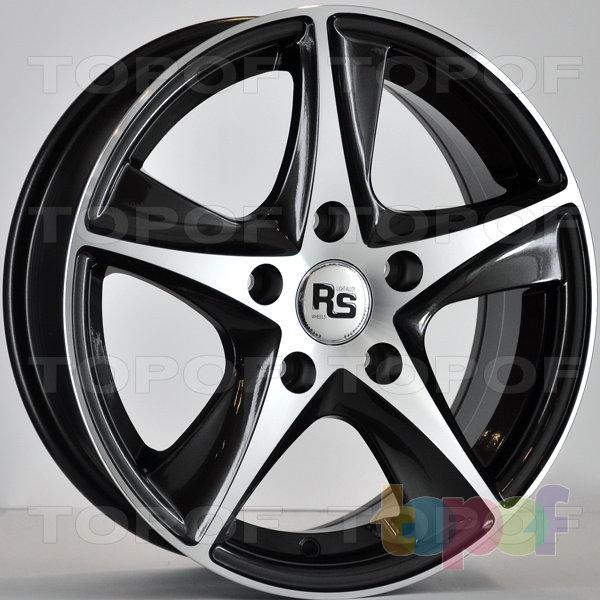 Колесные диски RS 336. Цвет: матовый черный