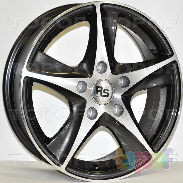 Колесные диски RS 336. Цвет: матовый серый, оружейный металл серый, антрацит