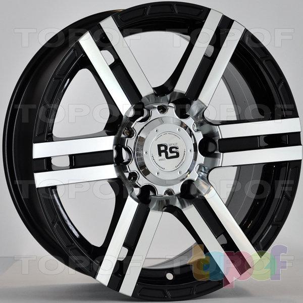 Колесные диски RS 337. Цвет: матовый черный