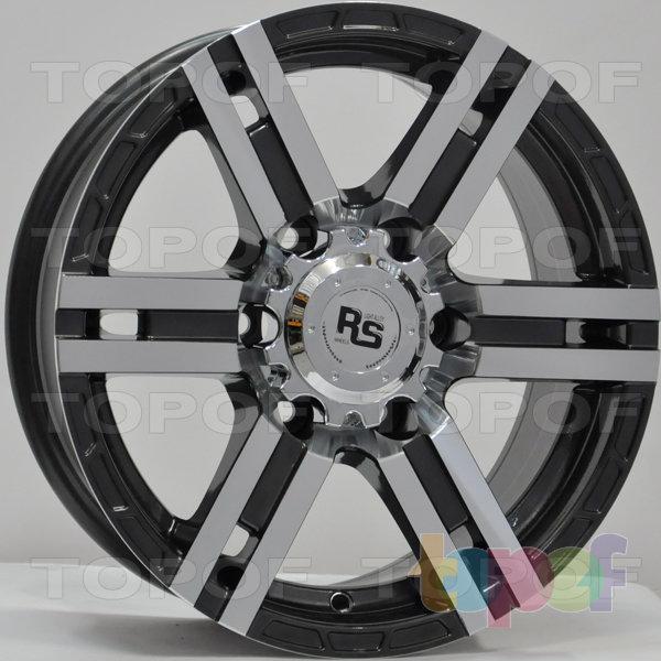 Колесные диски RS 337. Цвет: матовый серый, оружейный металл серый, антрацит