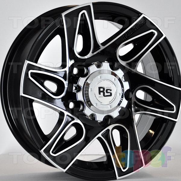 Колесные диски RS 339. Цвет: матовый черный