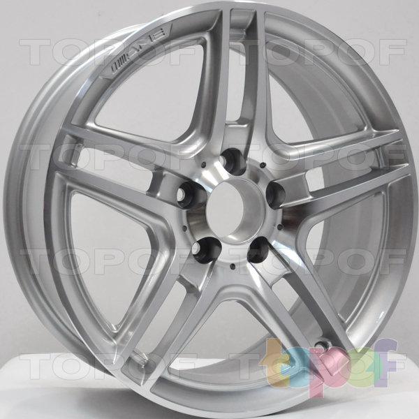 Колесные диски RS 342. Цвет: серебристый с дымкой