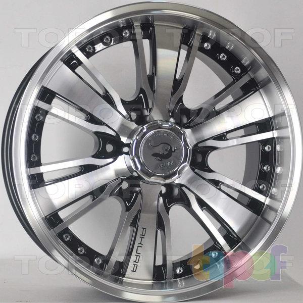Колесные диски RS 344. Цвет: матовый черный