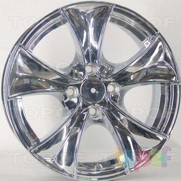Колесные диски RS 346. Цвет: Хром