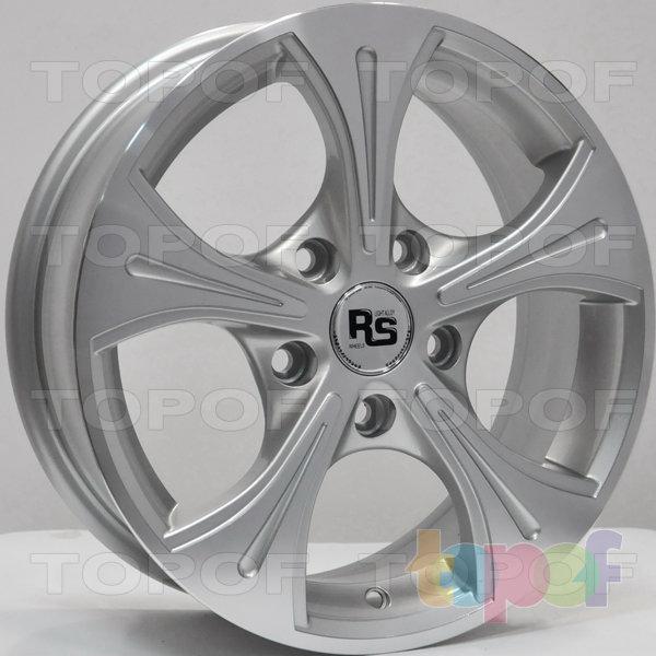 Колесные диски RS 347. Цвет: серебристый с дымкой