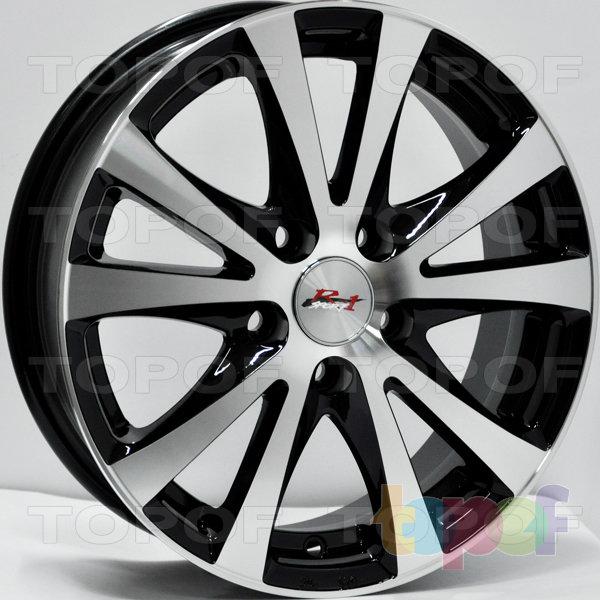 Колесные диски RS 351. Цвет: матовый черный