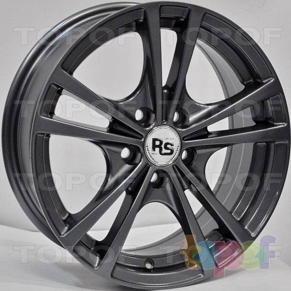 Колесные диски RS 355. Цвет: Тёмно-серый (графит)