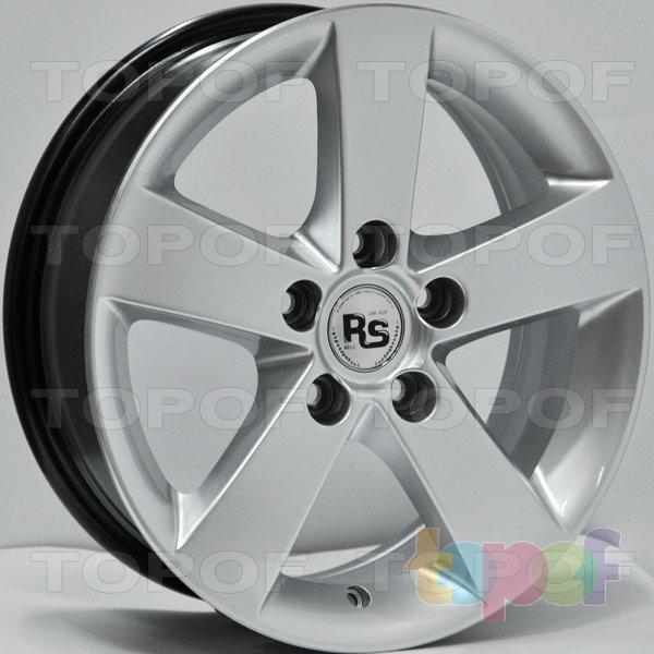 Колесные диски RS 356. Цвет: насыщенный серебристый
