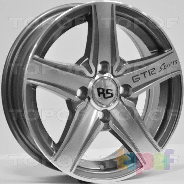 Колесные диски RS 358. Цвет: матовый серый, оружейный металл серый, антрацит