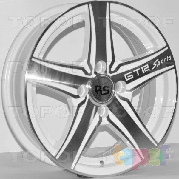 Колесные диски RS 358. Цвет: MW