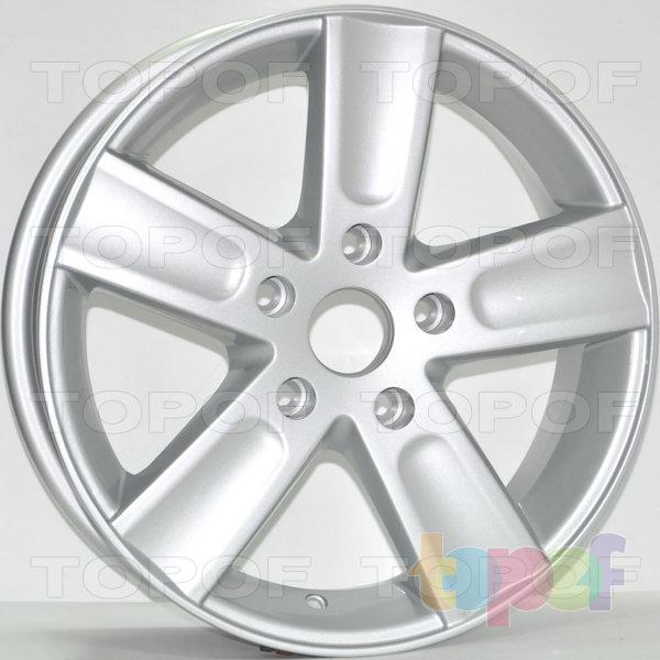 Колесные диски RS 360. Цвет: серебряный