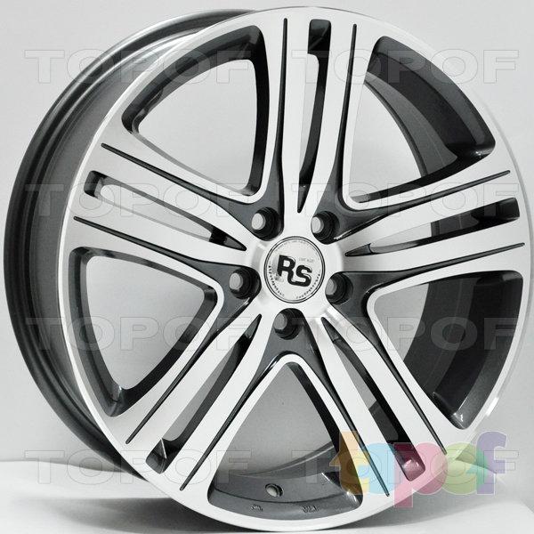 Колесные диски RS 363. Цвет: матовый серый, оружейный металл серый, антрацит