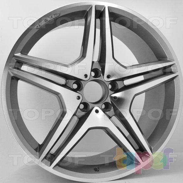 Колесные диски RS 40. Цвет: матовый серый, оружейный металл серый, антрацит