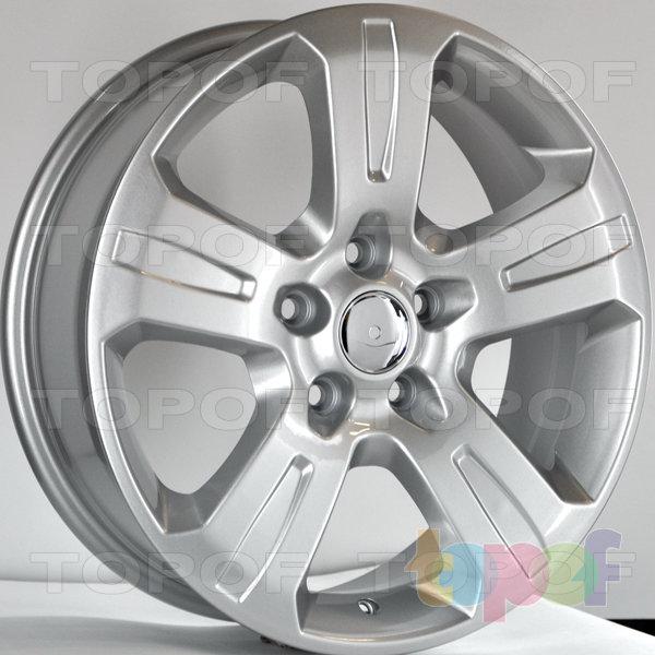 Колесные диски RS 4002 rOP. Цвет: серебряный