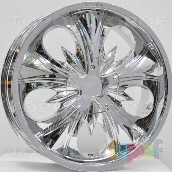 Колесные диски RS 401. Цвет: Хром