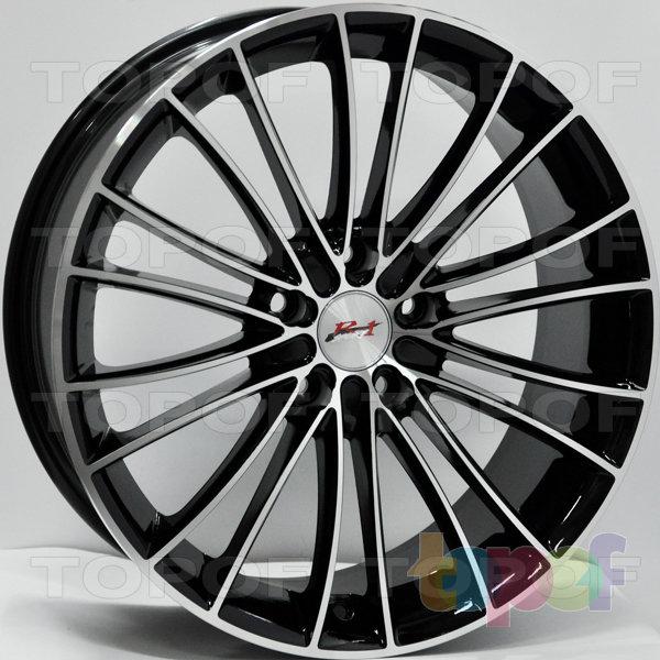 Колесные диски RS 404. Цвет: матовый черный