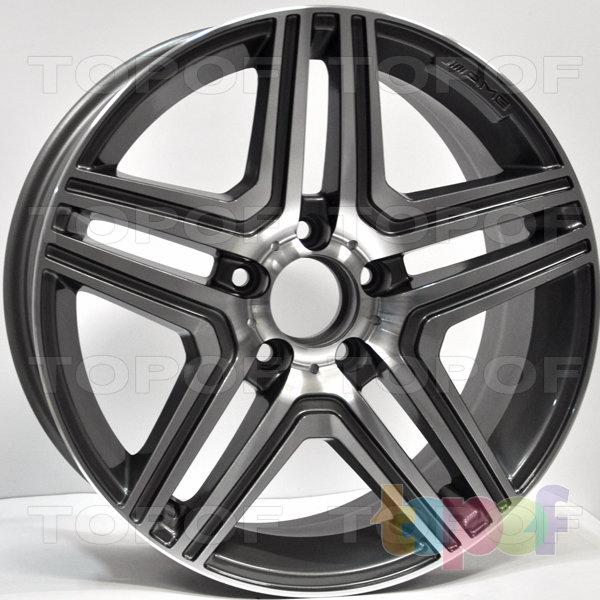 Колесные диски RS 41. Цвет: матовый серый, оружейный металл серый, антрацит