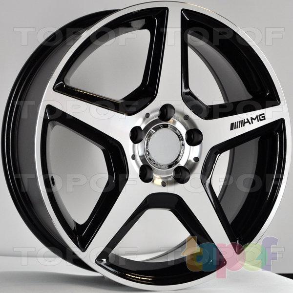 Колесные диски RS 476. Цвет: матовый черный