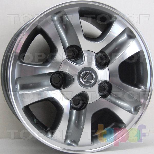 Колесные диски RS 505. Изображение модели #1