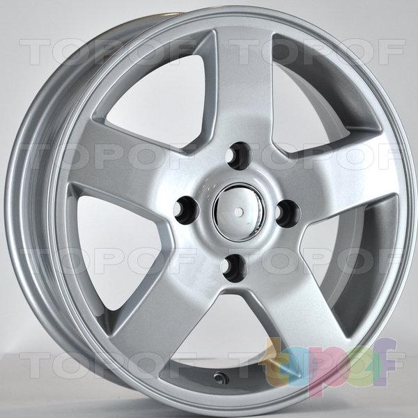 Колесные диски RS 507. Цвет: серебряный