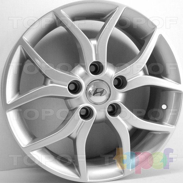 Колесные диски RS 509. Изображение модели #1