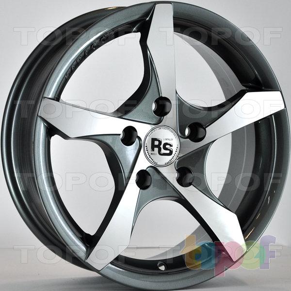 Колесные диски RS 5121. Цвет: Матовый серый, оружейный металл серый, антрацит