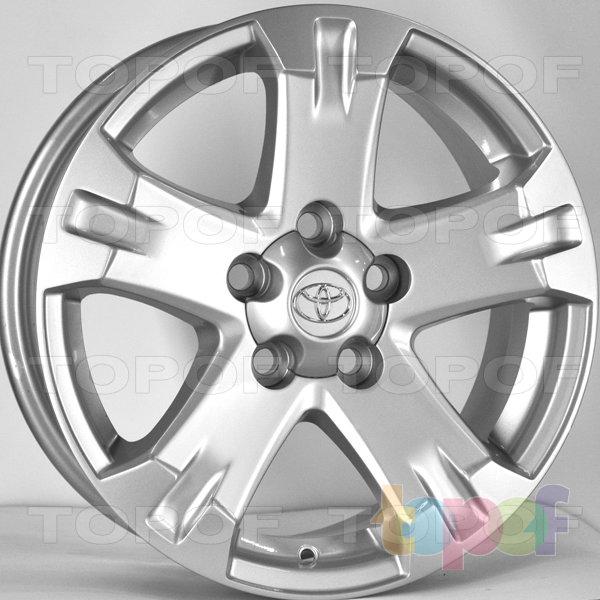 Колесные диски RS 5121 rTO. Цвет: серебряный