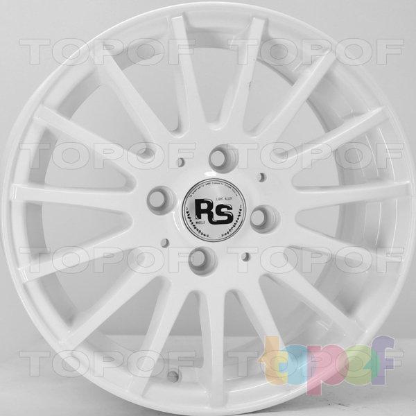 Колесные диски RS 5238. Цвет: белый