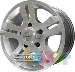 Колесные диски RS 525 A. Изображение модели #1