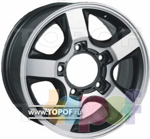 Колесные диски RS 535. Изображение модели #1