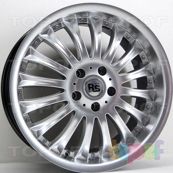 Колесные диски RS 535F. Цвет: насыщенный серебристый