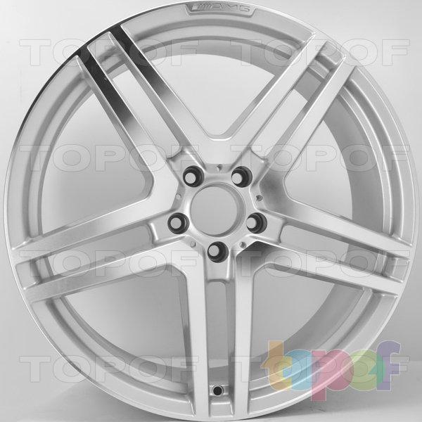 Колесные диски RS 541. Цвет: серебристый с дымкой