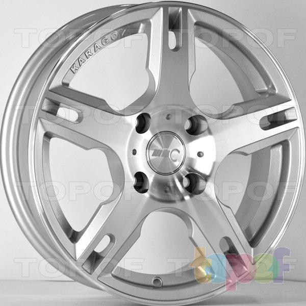 Колесные диски RS 548. Цвет: серебристый с дымкой