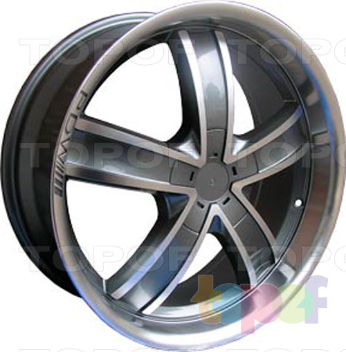 Колесные диски RS 555. Изображение модели #3