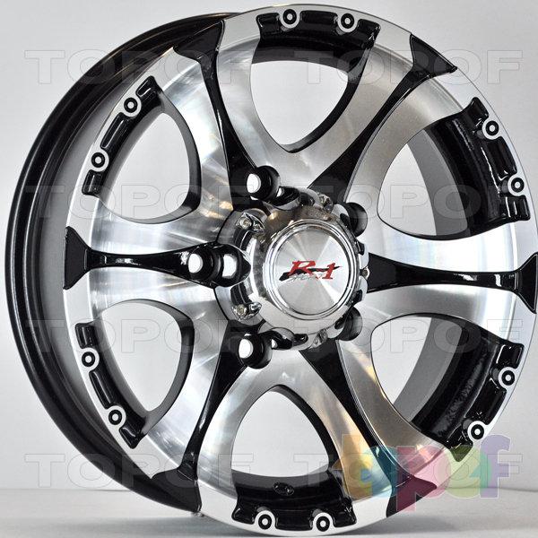 Колесные диски RS 571. Цвет: матовый черный
