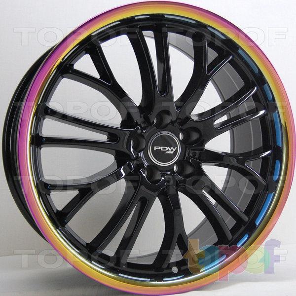 Колесные диски RS 572. Цвет: черный