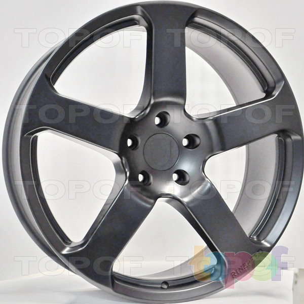 Колесные диски RS 577 rPO. Цвет: матовый черный