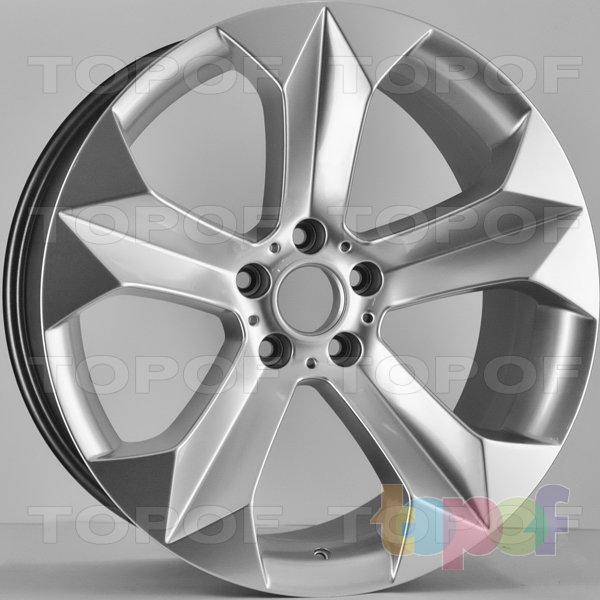 Колесные диски RS 579. Цвет: насыщенный серебристый