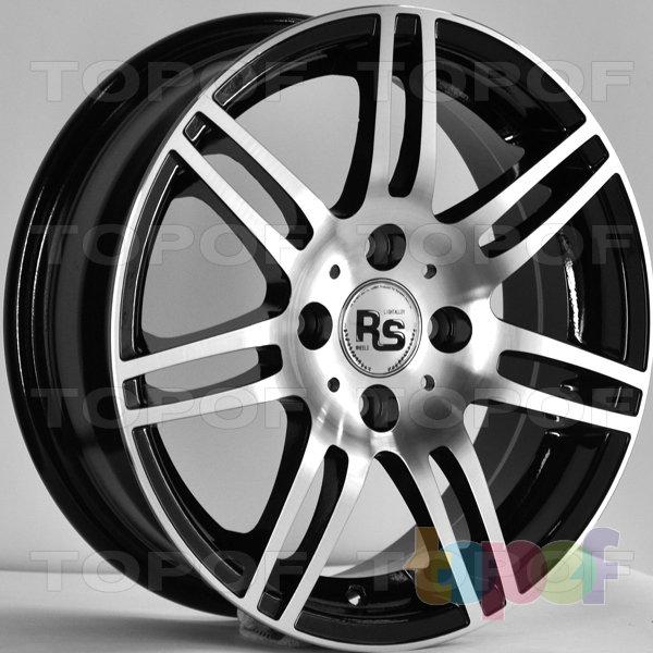Колесные диски RS 586. Цвет: матовый черный