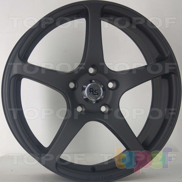Колесные диски RS 588. Цвет: Crystal Black Pearl